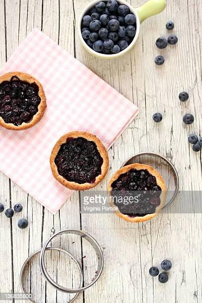 Ai-tarts Bluberries tartellette bilberries