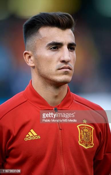Aitor Bunuel of Spain looks on prior the UEFA European Under-21 Championship Qualifying match between Spain U21 and Montenegro U21 on September 10,...