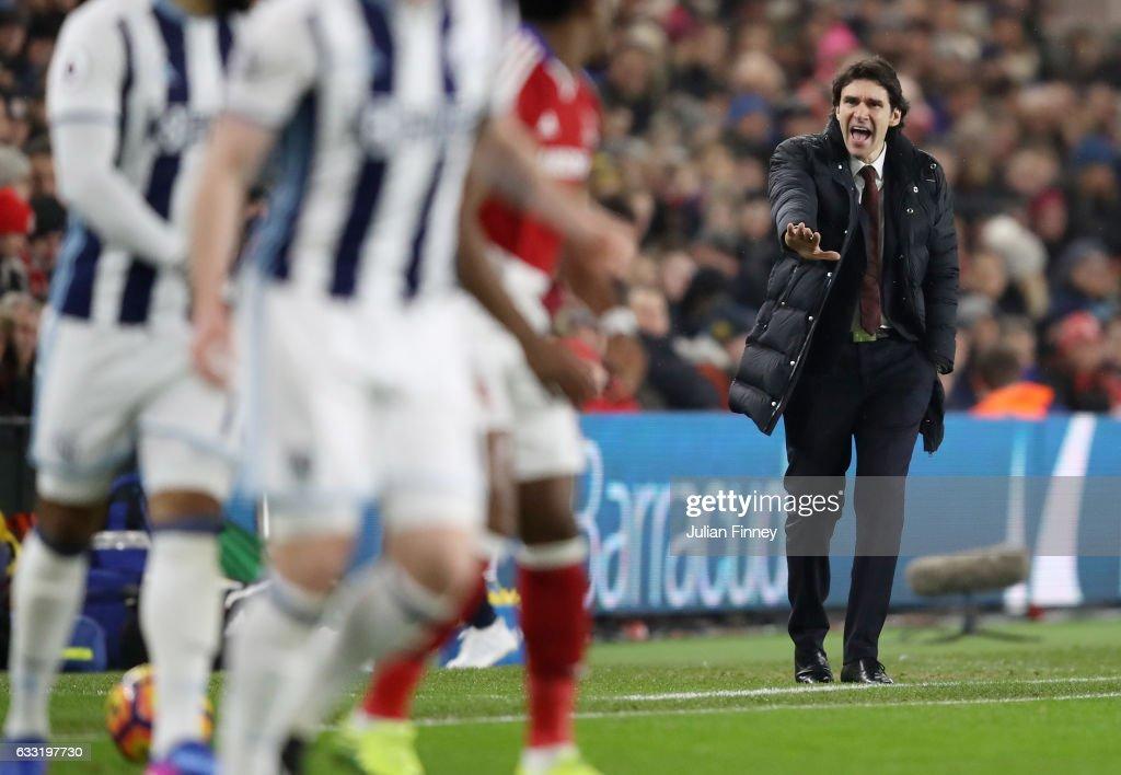 Middlesbrough v West Bromwich Albion - Premier League : News Photo