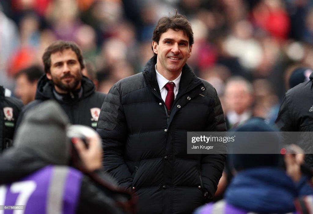 Stoke City v Middlesbrough - Premier League : ニュース写真