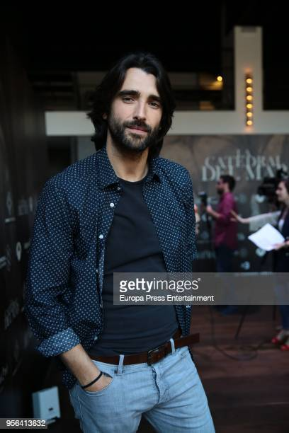 Aitor Luna attends 'La Catedral del Mar' tv serie photocall on May 8, 2018 in Madrid, Spain.