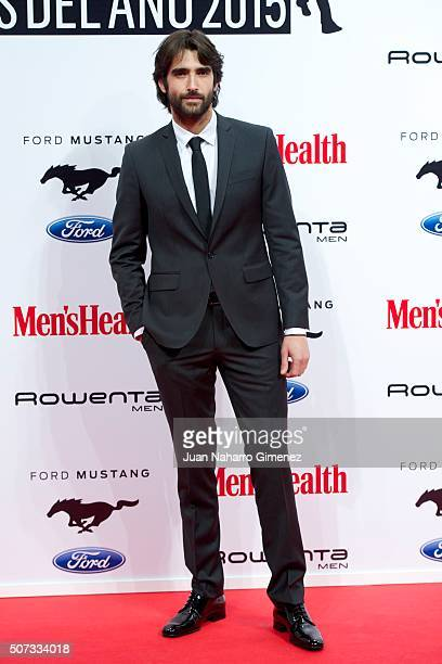 Aitor Luna attends Men's Health 2015 Awards on January 28, 2016 in Madrid, Spain.