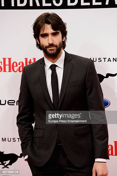 Aitor Luna attends Men's Health 2016 Awards on January 28, 2016 in Madrid, Spain.