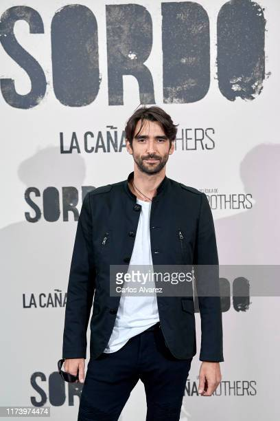 Aitor Luna attends 'Sordo' premiere at the Capitol cinema on September 11 2019 in Madrid Spain