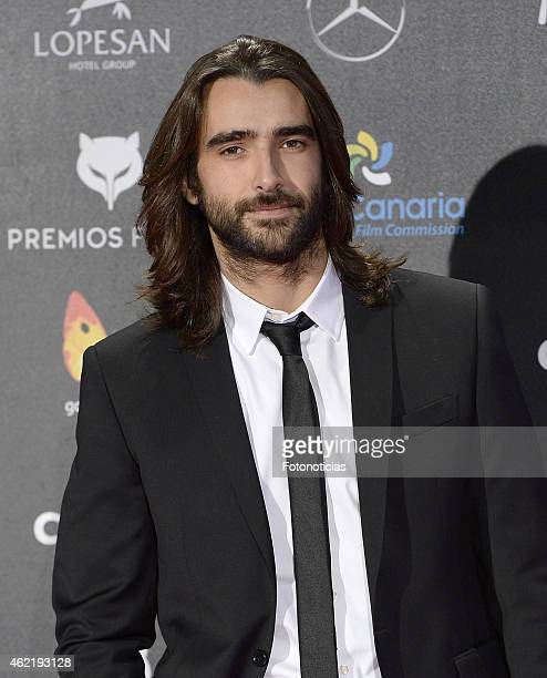 Aitor Luna attends the 2015 'Feroz' Cinema Awards at Gran Teatro Ruedo Las Ventas on January 25 2015 in Madrid Spain