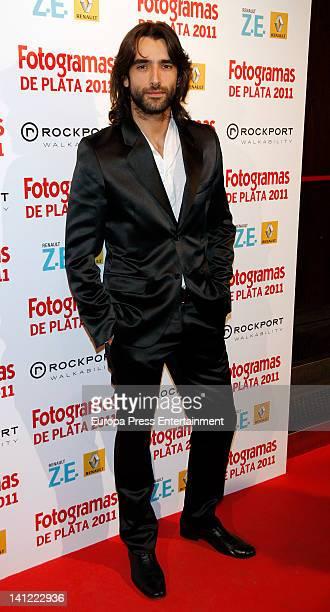 Aitor Luna attends the Fotogramas Awards at Joy Eslava Nightclub on March 12, 2012 in Madrid, Spain.