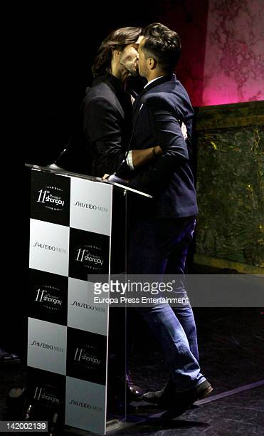 Aitor Luna attends the Shangay Awards 2012 Show on March 27, 2012 in Madrid, Spain.