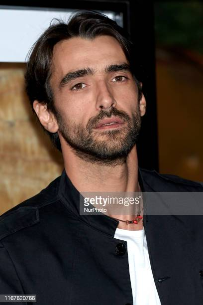 Aitor Luna attends the 'Sordo' movie premiere at Capitol Cinema in Madrid Spain on Sep 11 2019
