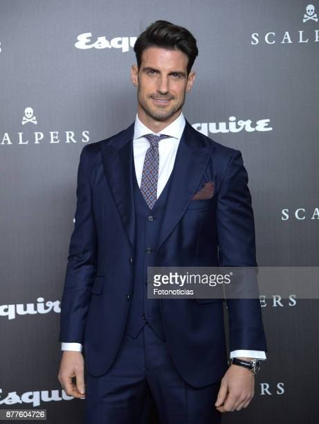 Aitor Ocio attends Esquire and Scalpers 10th anniversary party at the Palacio de Santa Coloma on November 22 2017 in Madrid Spain