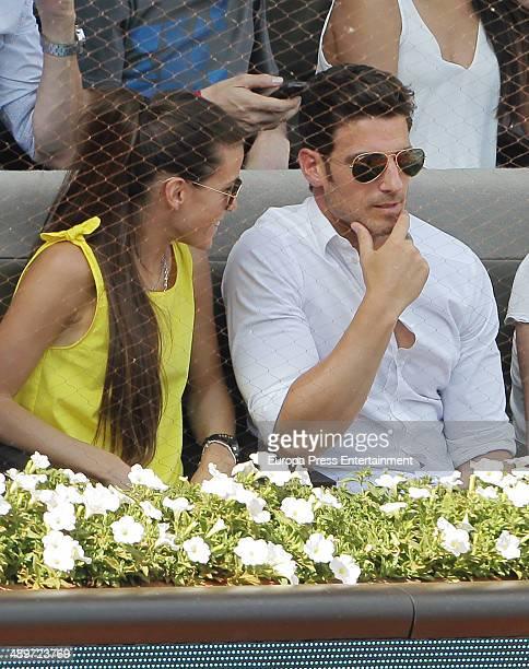 Aitor Ocio attends Mutua Madrid Open at La Caja Magica on May 10, 2014 in Madrid, Spain.