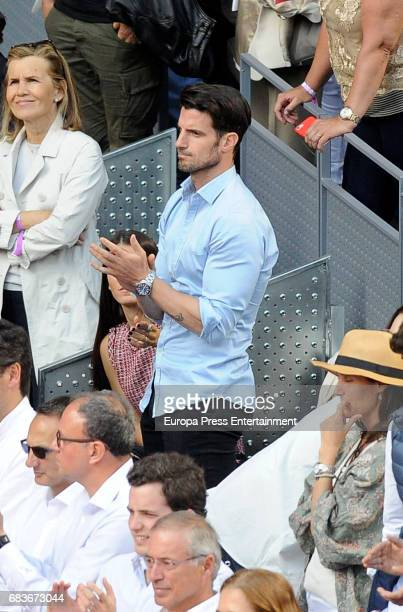 Aitor Ocio attends Mutua Madrid Open tennis at La Caja Magica on May 13 2017 in Madrid Spain