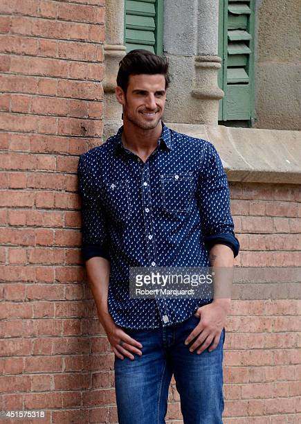 Aitor Ocio is seen during the '080 Barcelona Fashion Week' on July 1 2014 in Barcelona Spain