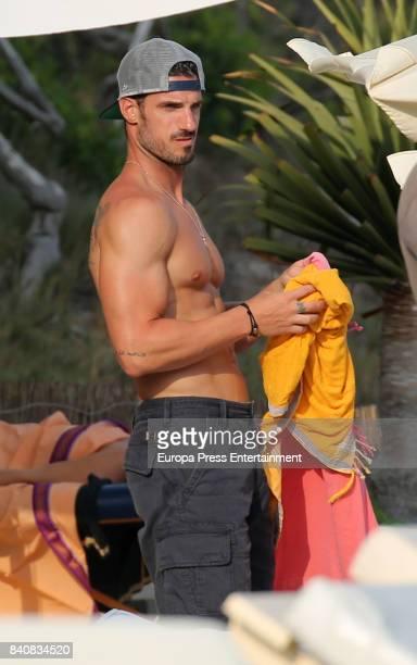 Aitor Ocio is seen on July 21 2017 in Ibiza Spain