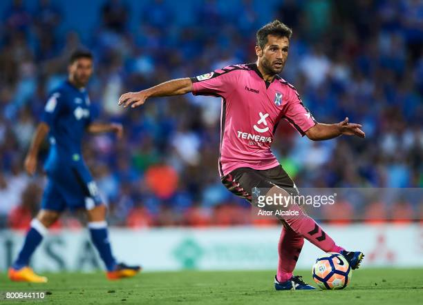 Aitor Sanz of CD Tenerife in action during La Liga 2 play off round between Getafe and CD Tenerife at Coliseum Alfonso Perez Stadium on June 24 2017...