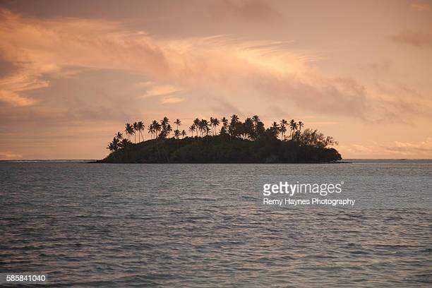 Aitutaki Island in Rarotonga, Cook Islands
