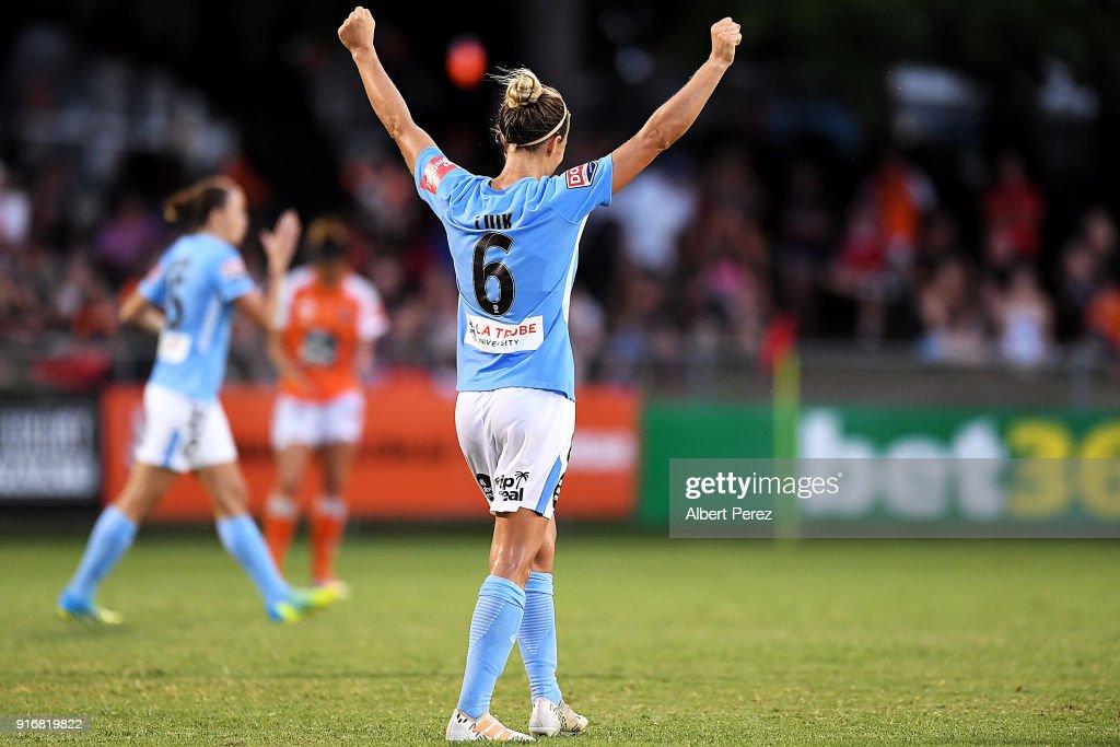 W-League Semi Final - Brisbane v Melbourne City : News Photo