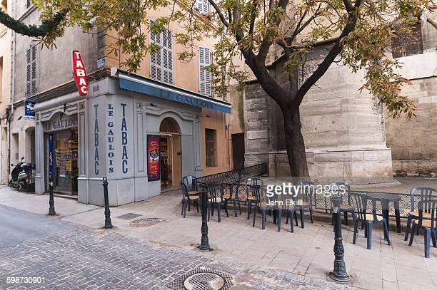 Aix en Provence, tobacco shop