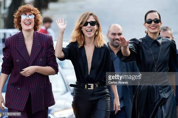 Aixa Villagran, Leticia Dolera and Celia Freijeiro attend 'Vida Perfecta ' photocall during 67th San Sebastian Film Festiva at Kursaal, San Sebastian...