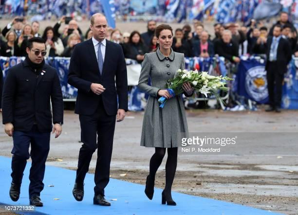 Aiyawatt Srivaddhanaprabha Prince William Duke of Cambridge and Catherine Duchess of Cambridge Cambridge pay tribute to those who were tragically...