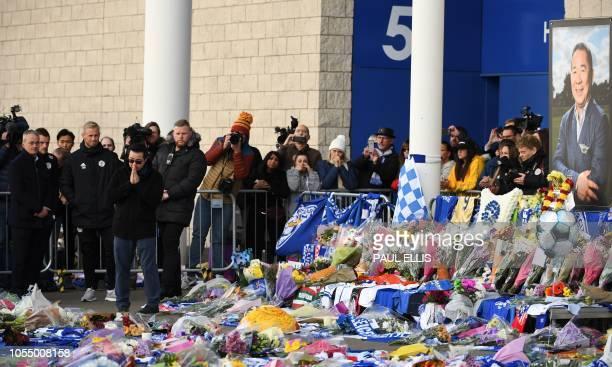 Aiyawatt Srivaddhanaprabha the son of Leicester City's Thai chairman Vichai Srivaddhanaprabha who died in a helicopter crash at the club's stadium...