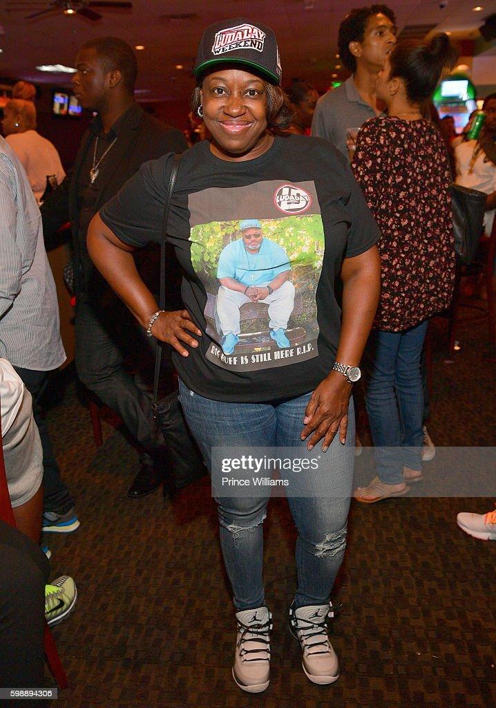 Aiyisha T. Obafemi attends LudaDay Weekend: Celebrity Bowling Tournament at Bowlmar Lanes on September 2, 2016 in Atlanta, Georgia.