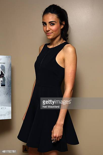 Aiysha Hart attends a photocall for 'Honour' at The Mayfair Hotel on March 31 2014 in London England