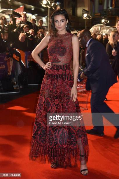 Aiysha Hart attends the UK Premiere after party for 'Colette' during the 62nd BFI London Film Festival on October 11 2018 in London England