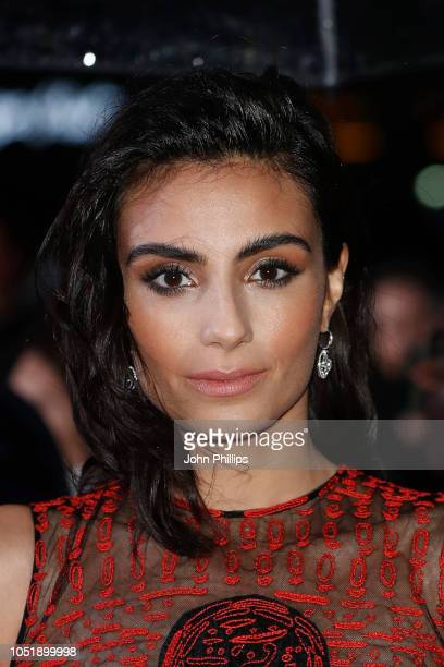 Aiysha Hart attends the UK Premiere of Colette and BFI Patrons gala during the 62nd BFI London Film Festival on October 11 2018 in London England