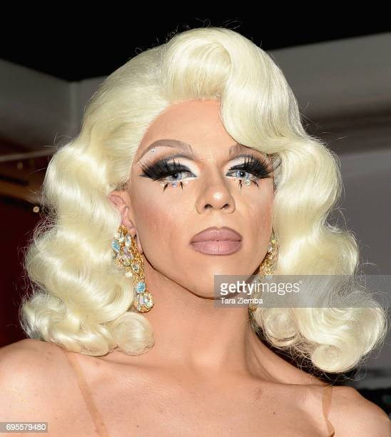 Aja attends FYC Costume Exhibit Launch Party For VH1's 'RuPaul's Drag Race' at LASC on June 12 2017 in West Hollywood California