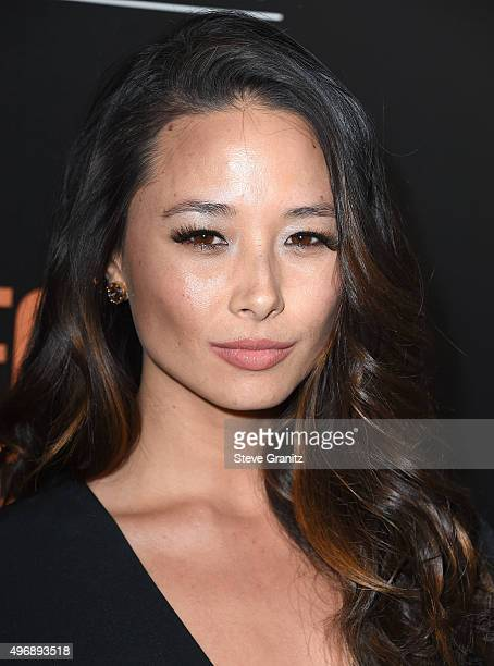 Aja Dang arrives at the Premiere Of STX Entertainment's 'Secret In Their Eyes' on November 11 2015 in Westwood California