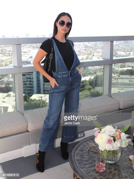 Aja Dang attends Luluscom Style Society Event on July 29 2017 in West Hollywood California