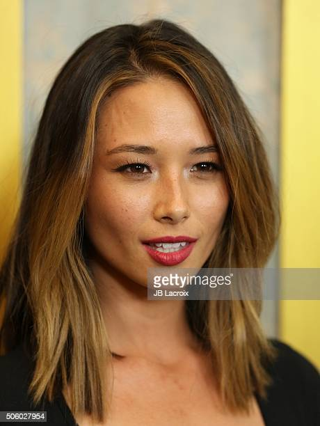 Aja Dang attends the premiere of STX Entertainment's 'The Boy' at Cinemark Playa Vista on January 20 2016 in Los Angeles California