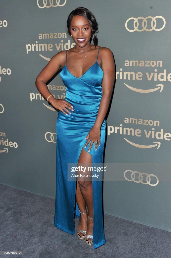 Amazon Prime Video's Golden Globe Awards After Party - Arrivals : Photo d'actualité