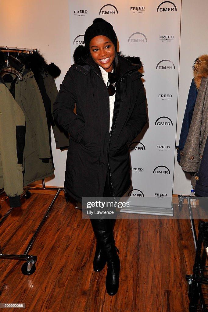 Aja Naomi King attends Kari Feinstein's Style Lounge on January 24, 2016 in Park City, Utah.