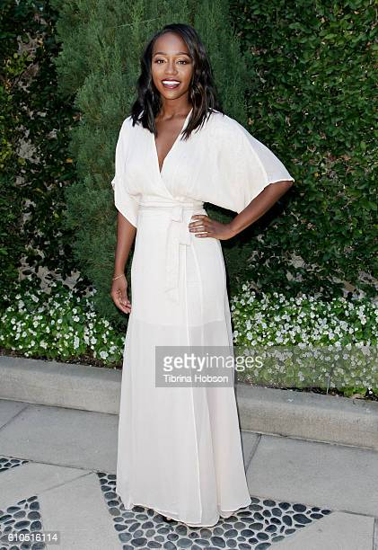 Aja Naomi King attends The Rape Foundation's annual brunch on September 25 2016 in Beverly Hills California