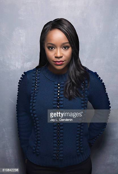 Aja Naomi King of 'The Birth of a Nation' poses for a portrait at the 2016 Sundance Film Festival on January 25 2016 in Park City Utah CREDIT MUST...