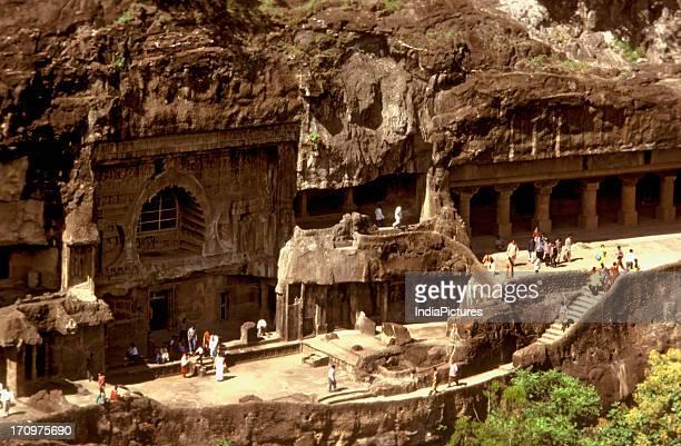 Ajanta Ellora caves Maharashtra India