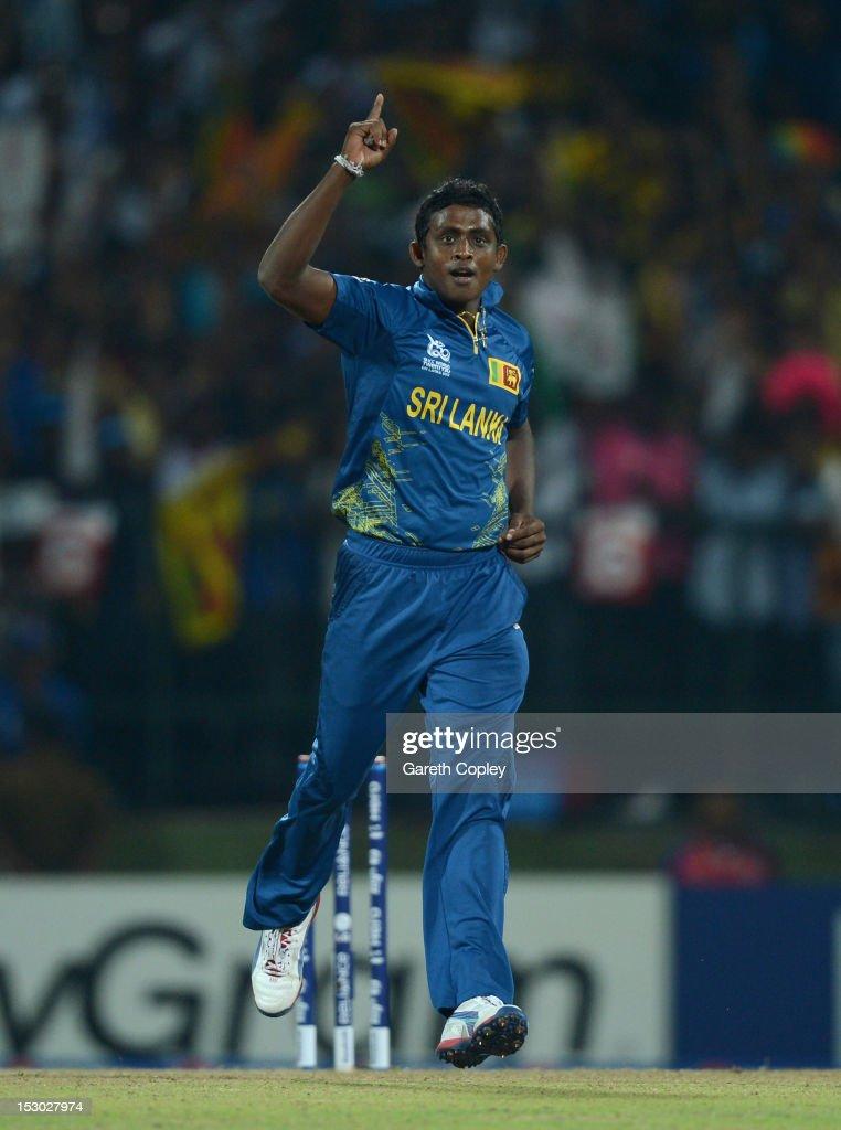 Sri Lanka v West Indies - ICC World Twenty20 2012: Super Eights Group 1