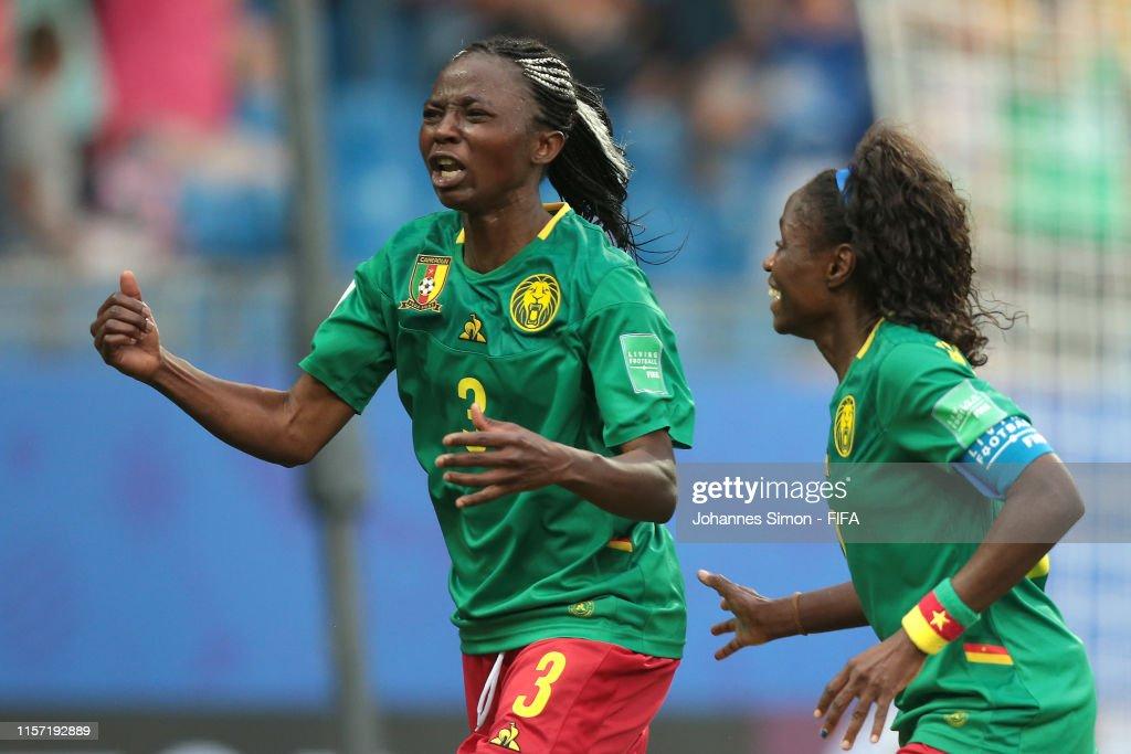 Cameroon v New Zealand: Group E - 2019 FIFA Women's World Cup France : News Photo