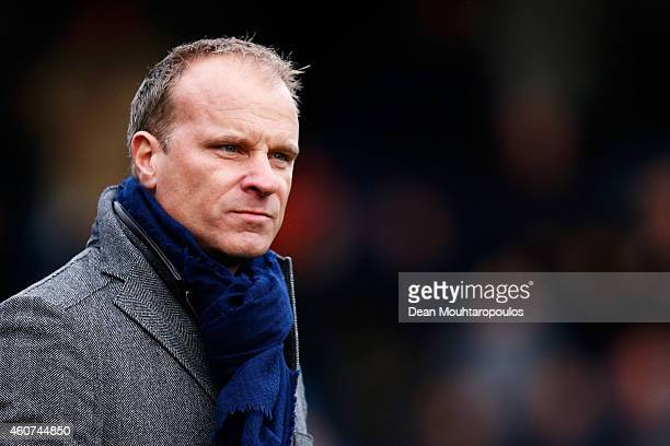 Ajax Assistant Manager / coach Dennis Bergkamp looks on during the Dutch Eredivisie match between SBV Excelsior Rotterdam and Ajax Amsterdam held at...