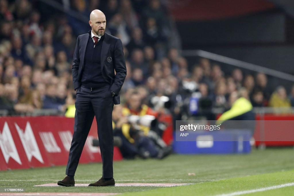 """Dutch Eredivisie""""Ajax Amsterdam v Feyenoord Rotterdam"""" : News Photo"""