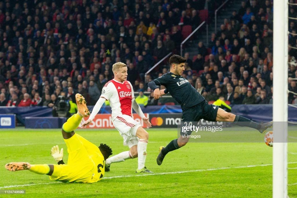 UEFA Champions League'Ajax v Real Madrid' : News Photo