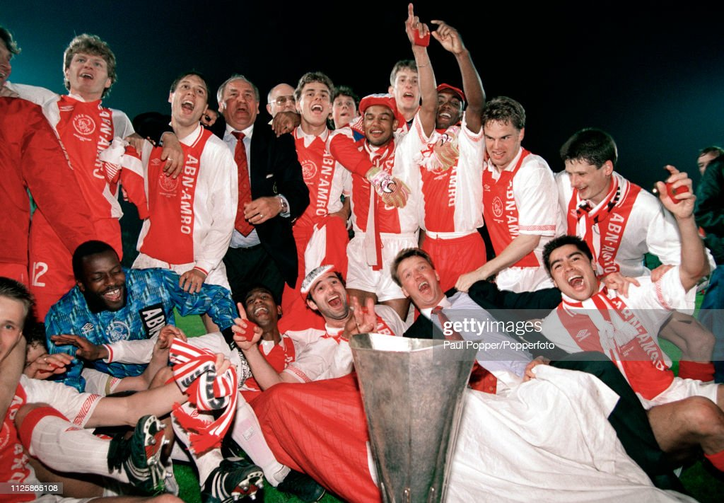 Ajax v Torino - 1992 UEFA Cup Final 2nd Leg : News Photo