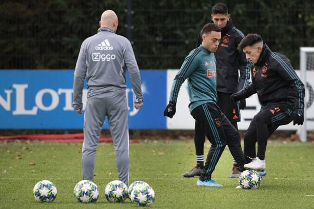 NLD: AFC Ajax v Valencia CF: Group H - UEFA Champions League