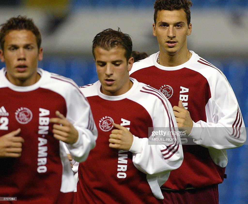 AFC Ajax's forward Swedish Zlatan Ibrahi : News Photo