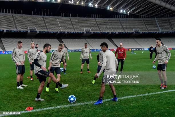 GRC: AEK Athens v Ajax - UEFA Champions League Group E