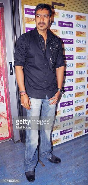 Ajay Devgan at the special screening of short film Boond in Mumbai.