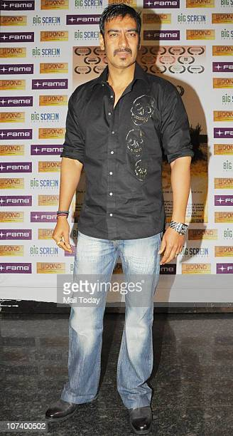 Ajay Devgan at the special screening of short film Boond in Mumbai