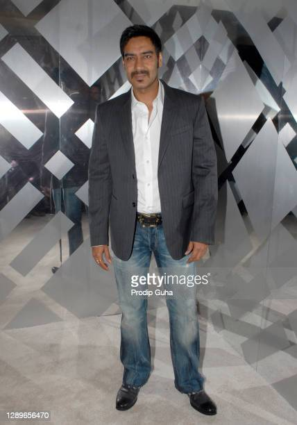 Ajay Devgan attends the Burberry bash hosted by Christopher Bailey on December 09, 2010 in Mumbai,India