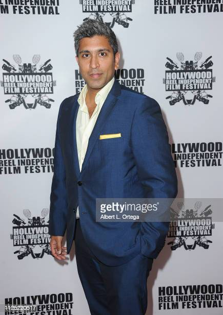 Ajay Nayya arrives for The 2019 Hollywood Reel Independent Film Festival held at Regal LA Live Stadium 14 on February 15 2019 in Los Angeles...